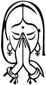 This image has an empty alt attribute; its file name is namaste.jpg